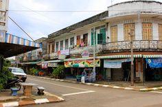 Shop houses - Savannakhet - Laos