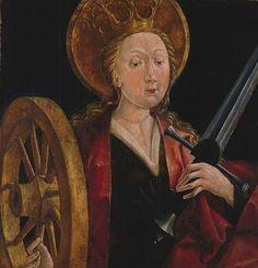 Friedrich Pacher- St. Catherine of Alexandria