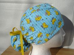 $15.99 This is the cutest hat for the Easter season ever! It has funny little bright YELLOW Easter chicks on it, some of them wearing silly...