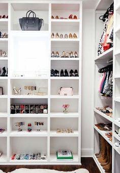 Boutique style closet