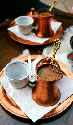 "my-sea-of-time: ""recadosdatenda: ""Renardiere : "" Café Turco "" "" For the love of Turkish coffee! Coffee Break, I Love Coffee, My Coffee, Morning Coffee, Cheap Coffee, Black Coffee, Coffee Cafe, Coffee Drinks, Coffee Shops"
