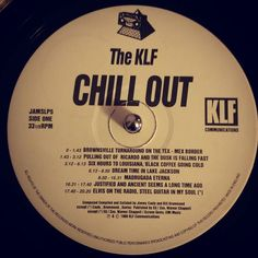 #nowspinning The KLF - Chill Out. KLF Communications: JAMSLP5 (1990). Previous post track draws heavily on this album in particular Six Hours To Louisiana Black Coffee Going Cold and Dream Time In Lake Jackson. Considered by many to be the greatest ambient album of all time and who am I to argue. Had my copy since 1990 and it got some serious post party plays bitd. I can't listen to the whole album right now though as it is sending me to sleep! #ambient #theklf #klfcommunications #vinyl…