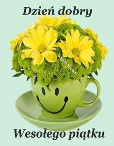 Good Morning Picture, Good Morning Flowers, Morning Pictures, Morning Images, Morning Quotes, Tropical Flower Arrangements, Tropical Flowers, Good Morning Coffee Cup, Yellow Flowers