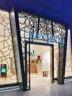 Beymen luxury flagship store by Michelgroup, Istanbul Turkey store design Entrance Design, Facade Design, Exterior Design, Apartment Therapy, Design Apartment, Jewellery Shop Design, Shop Facade, Luxury Store, Luxury Blog