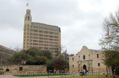 San Antonio, TX - Alamo Mission & Downtown