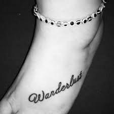 Resultado de imagen para significado de wanderlust en tatuajes