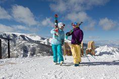 Elan Skis on Aspen Highlands
