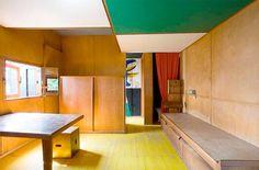Bedroom wardrobe / kitchen / teak veneer / paint