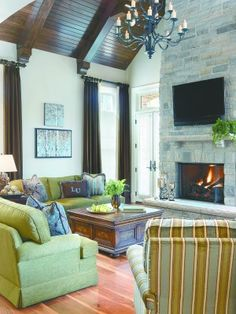 Indoor outdoor hearth room for the home pinterest for House plans with hearth rooms