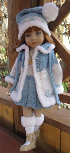 Outfit for Dianna Effner Little Darling 13, mini Maru,Betsy,8 pieces