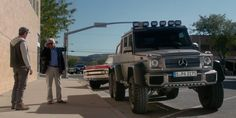 Michael Douglas' new co-star is the G63 AMG 6x6