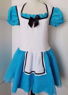 Alice in Wonderland Adult Medium Halloween Costume Sexy Dress Leg Avenue sz M #LegAvenue #Dress #partyhalloweenplay