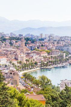 Marjan Hill, Split, Croatia.    See more on: http://www.kisforkani.com/2015/09/to-marjan-hill/