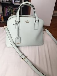 0566160c88fd Used Kate Spade bag purse mint green light blue for sale in Moore -