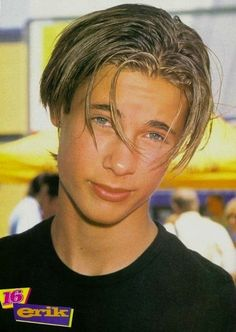Erik von Detten from the Disney Channel original movie Brink!! #memories | The 25 Most Important Middle Parts In History