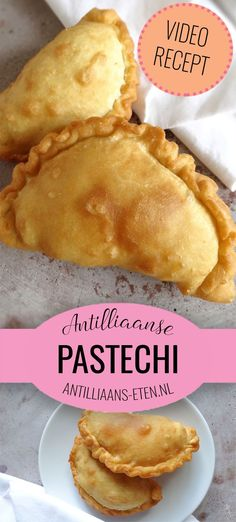 Pastechi di karni are traditional pastries filled with minced beef, eaten in Aruba, Bonaire and Curaçao. Make this Antillean party snack with our recipe! Tapas, Aruba Food, Pastry Recipes, Cooking Recipes, Cooking Ribs, Healthy Cooking, Snacks Für Party, Exotic Food, Gastronomia