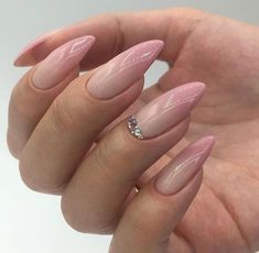 Acrylic nail art 541487555201866113 - Nagel Kunst – Nails – Nagel Kunst – Nails – Source by WW__ Almond Acrylic Nails, Cute Acrylic Nails, Almond Nails, Summer Nails Almond, Aycrlic Nails, Nude Nails, Hair And Nails, Stiletto Nails, Glitter Nails