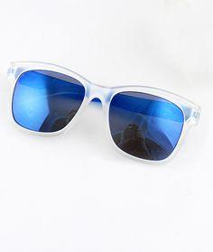 Shop Blue Lenses Sheer Rim Sunglasses online. Sheinside offers Blue Lenses Sheer Rim Sunglasses & more to fit your fashionable needs.