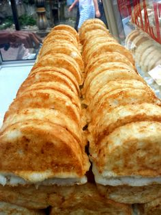 Indonesian street food - Kue Pancong