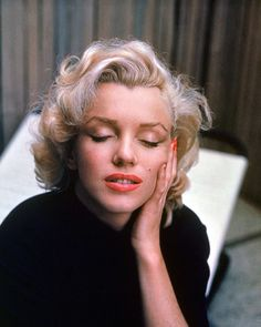Marilyn Monroe at home in Hollywood, California in 1953. (Alfred Eisenstaedt—The LIFE Picture Collection/Getty Images) #LIFElegends