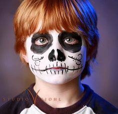 Dia de los muertos face paint image by carrieviohlweddings on Photobucket