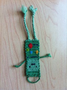 Photo added by akjamz  Friendship bracelet pattern #7672  Bemo :)