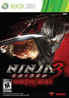 Ninja Gaiden 3 Razors Edge  Xbox 360 * You can find more details by visiting the image link. Note:It is Affiliate Link to Amazon.