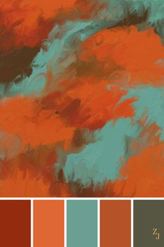 ZJ Colour Palette 384 #colourpalette #colourinspiration