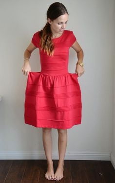Merrick's Art // Style + Sewing for the Everyday Girl: RESIZING AN OVERSIZED BACK-ZIPPERED DRESS (TUTORIAL)
