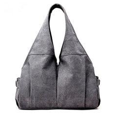 6e21665ff0cf Women s Large Casual Shoulder Bag. KISS GOLD(TM) Casual Canvas Hobo Tote  Handbag ...