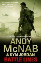 Battle Lines: War Torn 2 By Andy McNab, Kym Jordan - The casualties of war aren't only on the battlefield...  Coming back from war is never easy, as Sergeant Dave Henley's platoon discovers all too quickly when they return from Afghanistan. Home can be an equally searing battlefield.  When they are summoned back to Helmand to protect the US team destroying the opium crop,