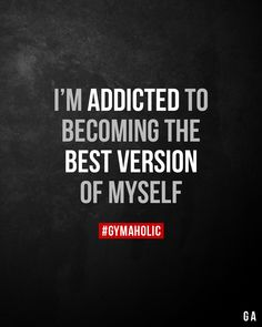 We inspire you to become the best version of yourself, physically and mentally Try our free Gymaholic Fitness Workouts App. Self Love Quotes, Girl Quotes, Quotes To Live By, Me Quotes, Motivational Quotes, Inspirational Quotes, Qoutes, Fitness Inspiration Quotes, Fitness Motivation Quotes