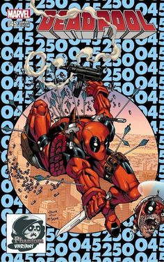 Deadpool #250 variant cover by Todd Nauck