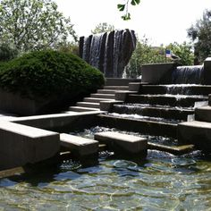 Lawrence Halprin Fountain, Levi Strauss Plaza, San Francisco, CA
