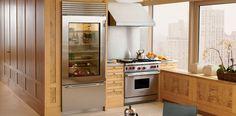 Glass door refrigerator.  I love you Sub-Zero.    Glass Door 36 Inch Refrigerator | Sub-Zero & Wolf Appliances