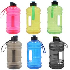 2.2L Big BPA Free Sport Gym Training Drink Water Bottle Large Capacity Kettle For Outdoor Picnic Bicycle