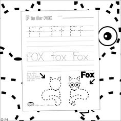 Free printables by Hibos the Owl.  #printables #freeschool #preschool #letters #letteroftheday  #letterf
