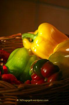 letzte Früchte, Erntezeitende, herbst, paprika, gelb / © 365tagegelb.wordpress.com