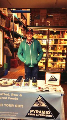 Alex doing an in store tasting at Tara Natural Foods in Kingston. Natural Foods, Kingston, Farmers Market, Special Events, Store, Tent, Shop Local, Larger, Business