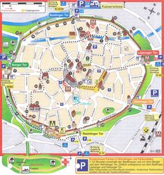 Interactive map of Munich with an overview of AttractionsMap of