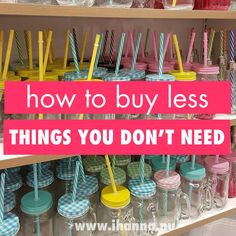 How to (try) to Buy Less this Year – iHanna's Blog