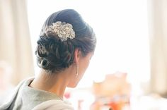 Beautiful Wedding hair up do