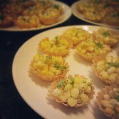 Corn tarts