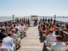 The Charleston Area Wedding Guide : Charleston Harbor Resort this view is exactly what I had in mind!