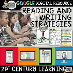 DIGITAL INTERACTIVE NOTEBOOK GOOGLE EDITION - READING AND WRITING STRATEGIES ($)