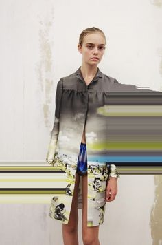 "hm Nimue Smit for Prada's spring/summer 2010 ""Fantasy Lookbook""."