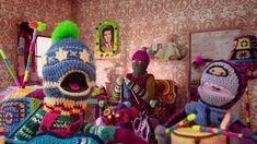 Mi mamá me lo teje todo, divertidísimo vídeo musical realizado con #amigurumi  #lana #wool