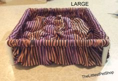 DIGGIN Dog Bed Nesting Box ALL BREEDS Unique by TheLittlestPetShop, $50.00