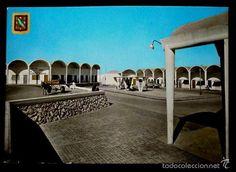 Postales: SAHARA (Español) -Años 60- Nº 8 AAIUN Zoco Nuevo, Vista Parcial - Postal Circulada - Foto 1 - 74673177
