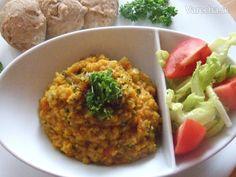 Červená šošovica s paradajkami a cesnakom (fotorecept) 20 Min, Risotto, Ale, Grains, Ethnic Recipes, Food, Ale Beer, Essen, Meals